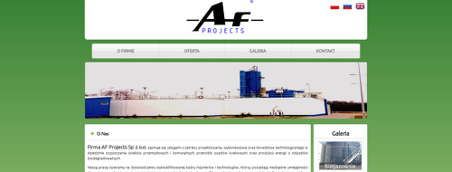 AF PROJECTS SP Z O O